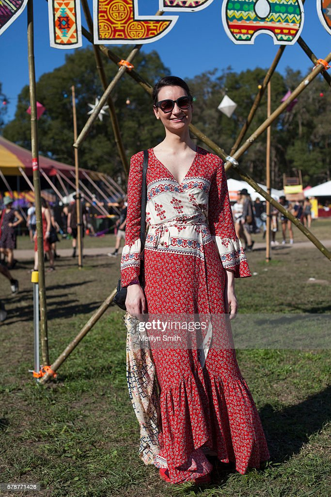 Street Style - Splendour In The Grass 2016 - Byron Bay : News Photo