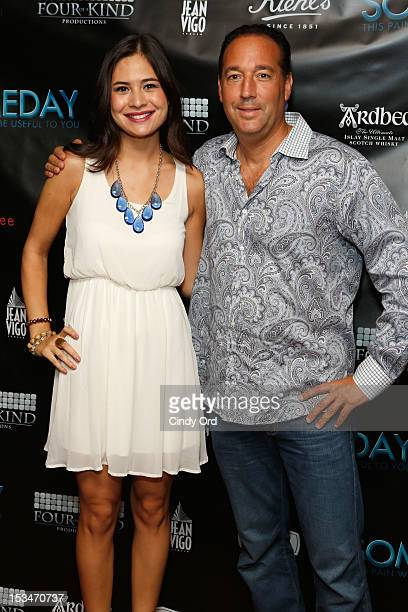 Alyssa Kuchta and Ron Stein attends the 'Someday This Pain Will Be Useful To You' New York Screening at Village East Cinema on October 5 2012 in New...
