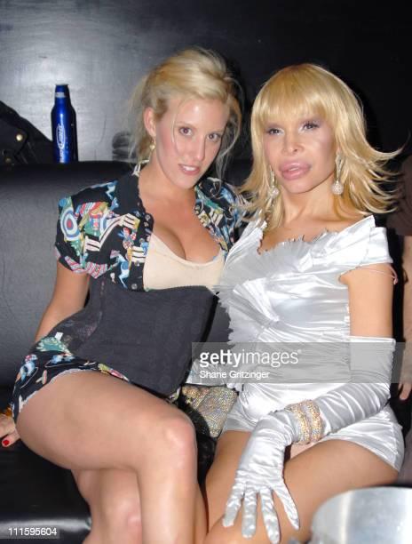 Alyssa Lipsky and Amanda Lepore during Kenny Kenny and Amanda Lepore Host Happy Valley April 4 2006 at Happy Valley in New York City NY United States