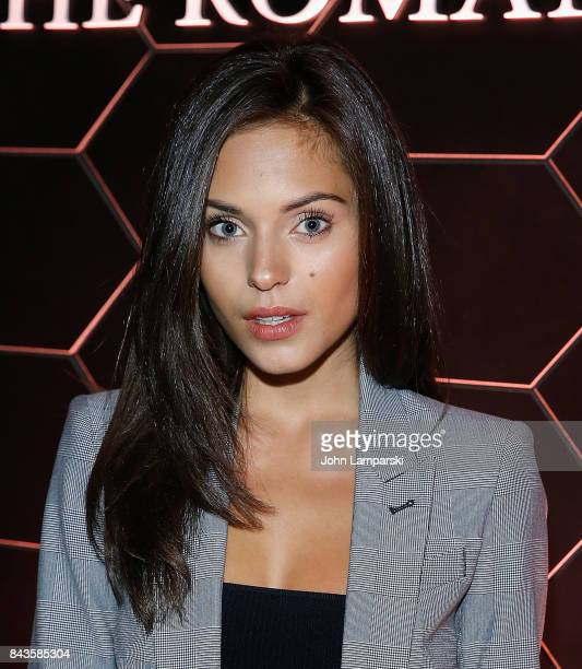 Alyssa Lynch attends Bulgari 'Goldea The Roman Night' fragrance launch party at 1 Hotel Brooklyn Bridge on September 6 2017 in the Brooklyn borough...