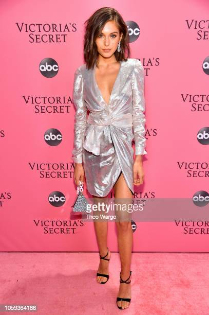 Alyssa Lynch attends the Victoria's Secret Fashion Show at Pier 94 on November 8 2018 in New York City
