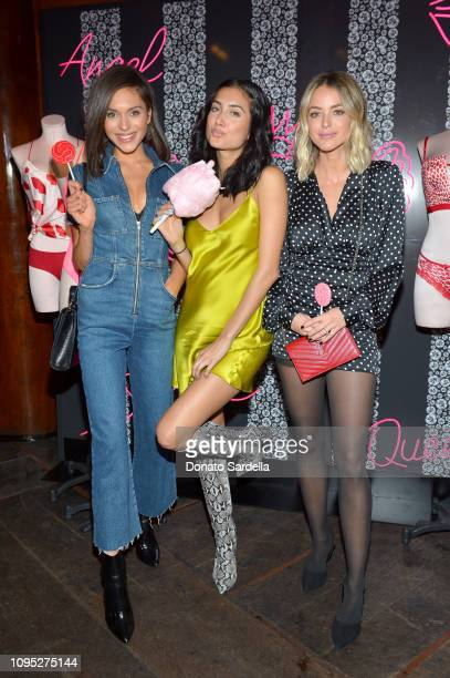 Alyssa Lynch guest and Kaitlynn Carter Jenner attend Victoria's Secret Angels Jasmine Tookes and Romee Strijd Share The Perfect Gifts for Valentine's...