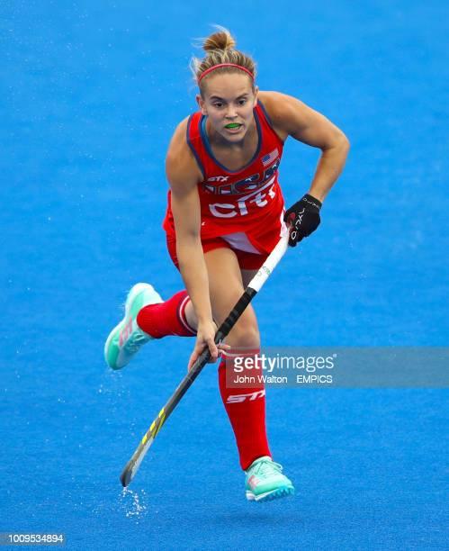 Alyssa Manley USA India v USA Women's Hockey World Cup 2018 Pool B Lee Valley Hockey Tennis Centre