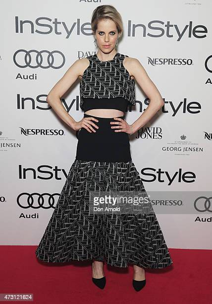 Alyssa McClelland arrives at the 2015 Women of Style Awards at Carriageworks on May 13 2015 in Sydney Australia
