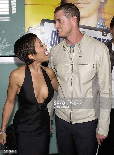 Alyssa Milano and Eric Dane during World Premiere of 'Dickie Roberts Former Child Star' at Cinerama Dome in Hollywood California United States