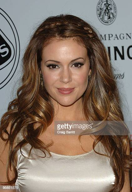 Alyssa Milano arrives for the 15th Annual Critics Choice Movie Awards Official After Party at Katsuya on January 15 2010 in West Hollywood California