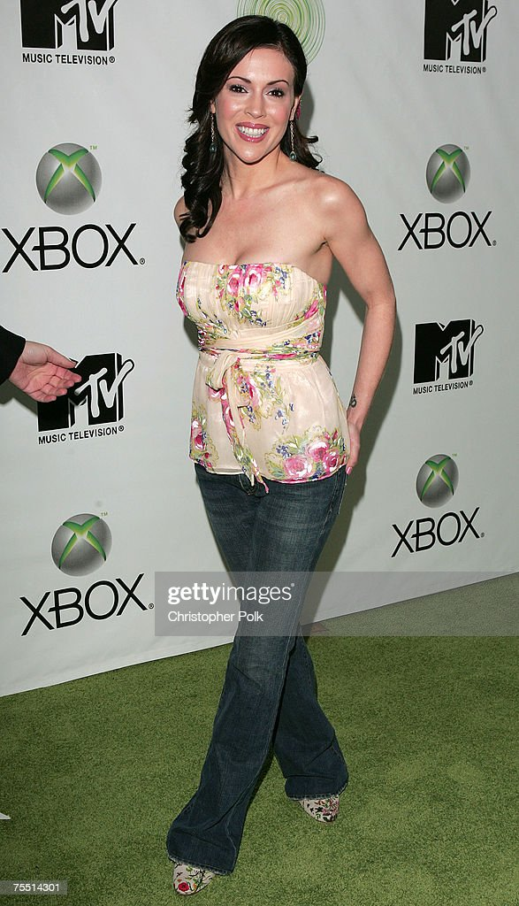 Alyssa Milano at the Next Generation Xbox Revealed - Arrivals at in Los Angeles, California.