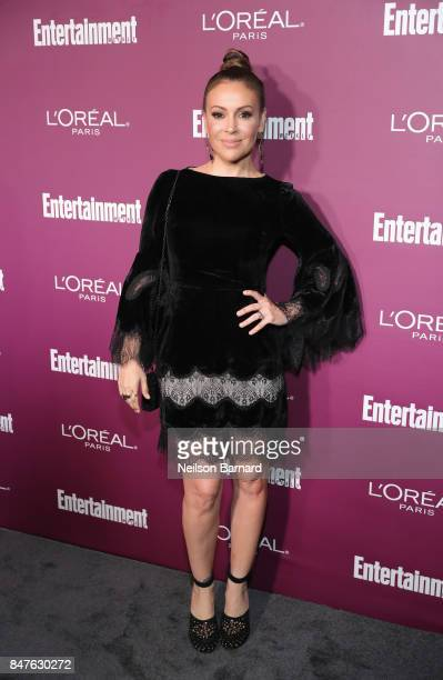 Alyssa Milano attends the 2017 Entertainment Weekly PreEmmy Party at Sunset Tower on September 15 2017 in West Hollywood California
