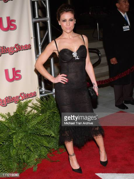 Alyssa Milano Stock Photos And Pictures Getty Images