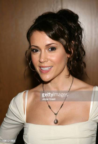 Alyssa Milano during 'For Your Consideration' Los Angeles Premiere Red Carpet at Director's Guild of America in Los Angeles California United States