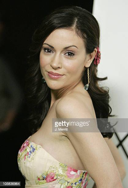Alyssa Milano during Next Generation Xbox Revealed Arrivals in Los Angeles California United States