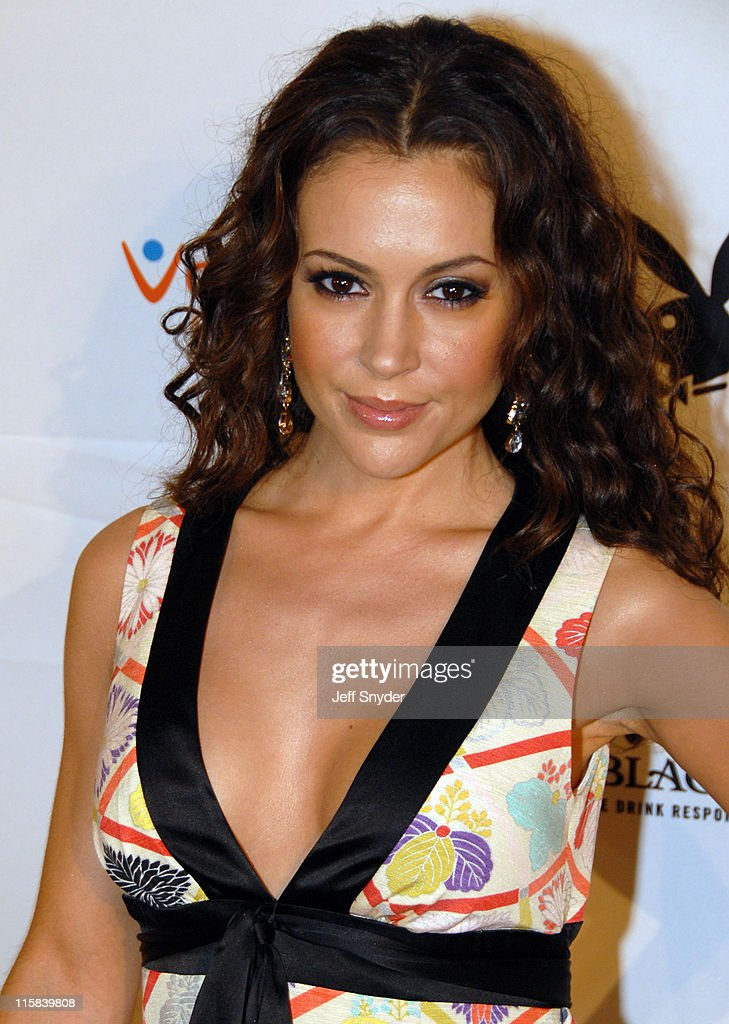 Alyssa Milano Pictures and Photos Getty Images Alyssa milano playboy photos