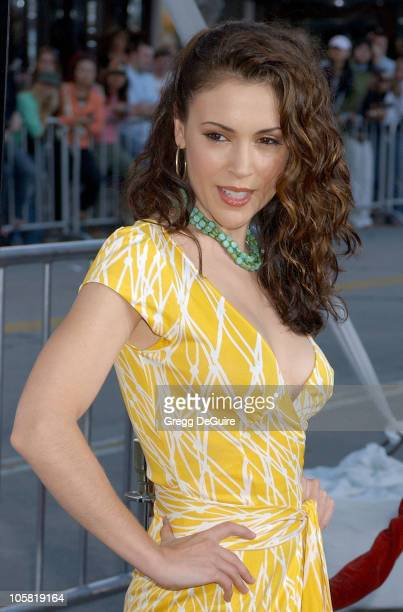 Alyssa Milano during 'The Break Up' Los Angeles Premiere Arrivals in Westwood California United States
