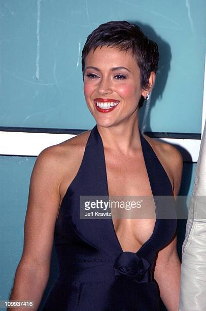 Alyssa Milano during World Premiere of Dickie Roberts Former Child Star at Cinerama Dome in Hollywood California United States