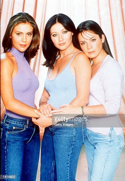 Alyssa Milano Holly Marie Combs Shannen Doherty from the tv show 'Charmed' 1999 Paramount Pictures/Deliverd by Online Usa Inc