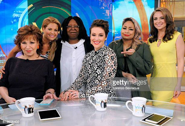 THE VIEW Alyssa Milano is a guest on The View airing Thursday April 7 2016 The View airs MondayFriday on the ABC Television Network BILA