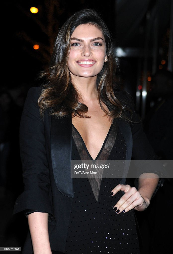 Alyssa Miller as seen on January 23, 2013 in New York City.