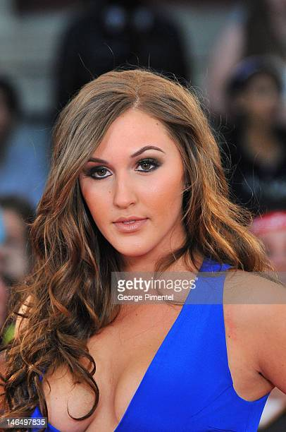 Alyssa Reid arrive at 2012 MuchMusic Video Awards at MuchMusic HQ on June 17 2012 in Toronto Canada