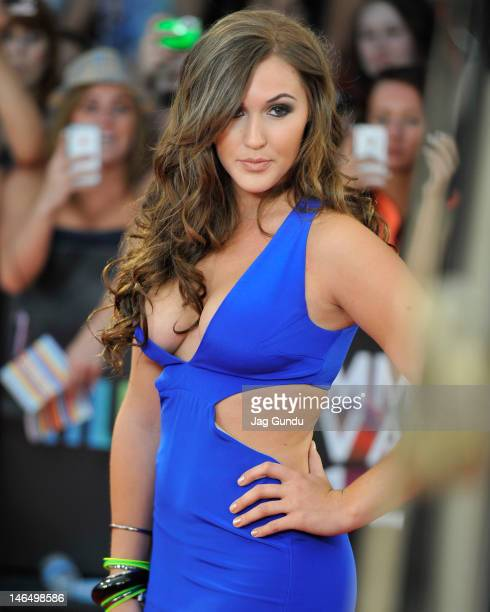 Alyssa Reid arrives at the 2012 MuchMusic Video Awards at MuchMusic HQ on June 17 2012 in Toronto Canada