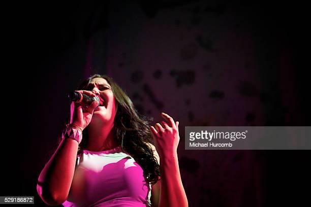 Alyssa Reid performs at the Memorial Centre in Peterborough Ontario