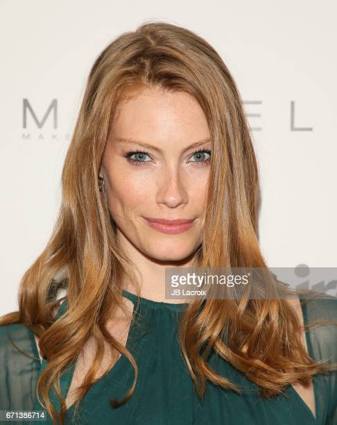 Alyssa Sutherland attends Marie Claire's 'Fresh Faces' celebration with an event sponsored by Maybelline at Doheny Room on April 21 2017 in West...