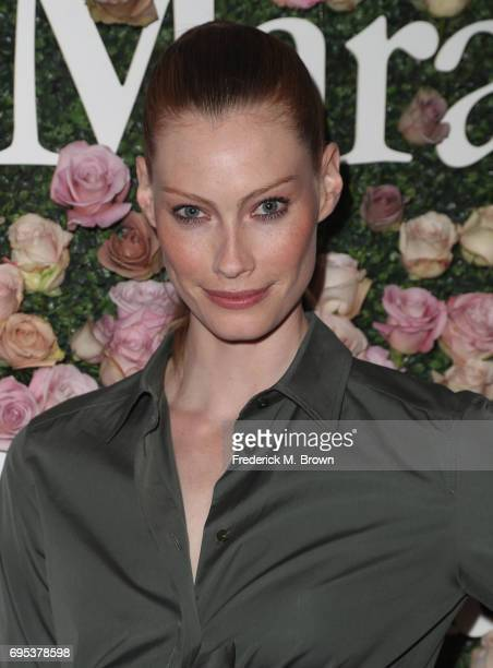 Alyssa Sutherland attends Max Mara Celebration of Zoey Deutch as The 2017 Women In Film Max Mara Face of The Future Award Recipient at Chateau...
