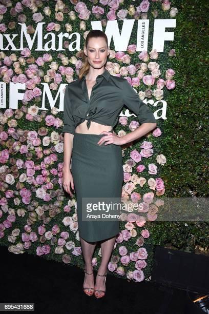 Alyssa Sutherland attends the Max Mara Celebrates Zoey Deutch As The 2017 Women In Film Max Mara Face Of The Future Award Recipient event at Chateau...