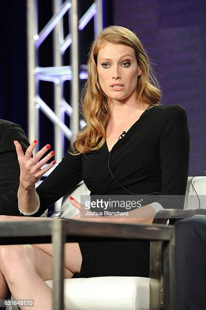 Alyssa Sutherland attends the Viacom Winter TCA Panels and Party on January 13 2017 in Pasadena California