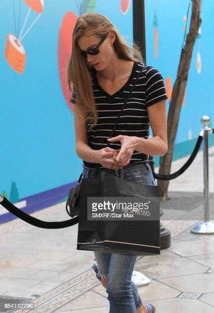 Alyssa Sutherland is seen on September 25 2017 in Los Angeles California