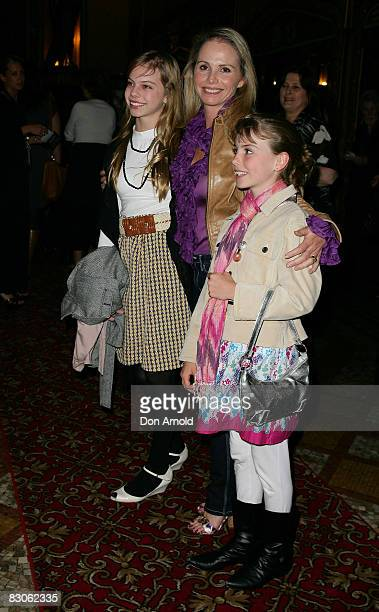 AlyssaJane Cook arrives for the Olivia NewtonJohn fundraising gala event at the State Theatre on September 30 2009 in Sydney Australia Funds raised...