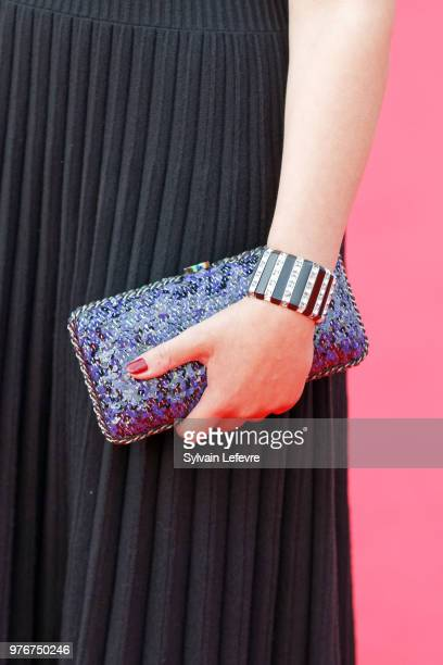 Alysson Paradis attends red carpet for the closing ceremony of Cabourg Film Festival on June 16 2018 in Cabourg France