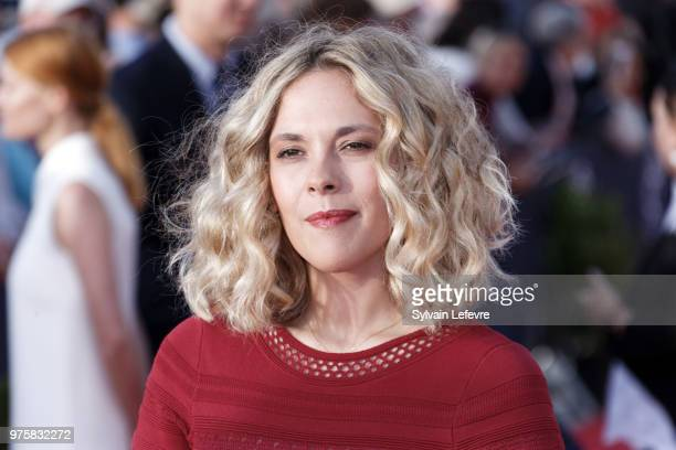 Alysson Paradis attends red carpet photocall during Cabourg Film Festival day 3 on June 15 2018 in Cabourg France