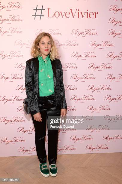 Alysson Paradis attends Roger Vivier '#LoveVivier' Book Launch Cocktail on May 24 2018 in Paris France