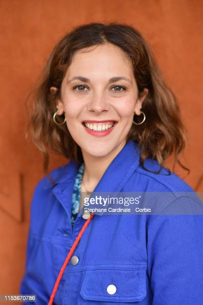 Alysson Paradis attends the 2019 French Tennis Open - Day Ten at Roland Garros on June 04, 2019 in Paris, France.
