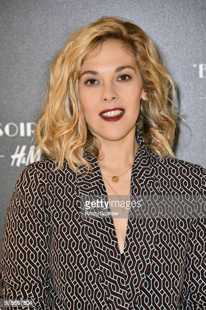 Alysson Paradis attends the HM Flaship Opening Party as part of Paris Fashion Week on June 19 2018 in Paris France