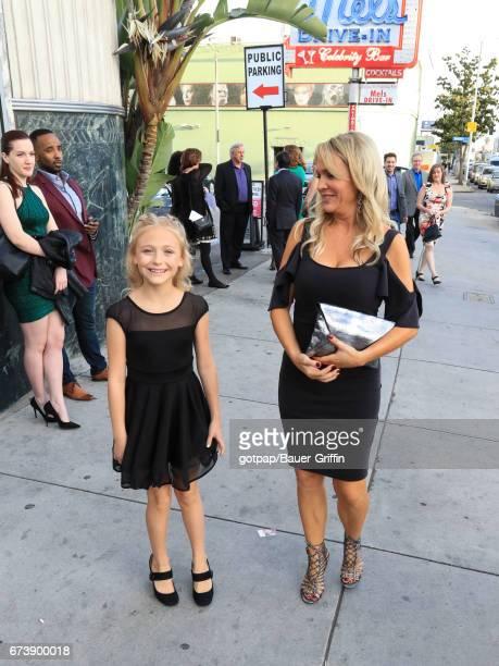 Alyvia Alyn Lind and Barbara Alyn Woods are seen on April 26 2017 in Los Angeles California