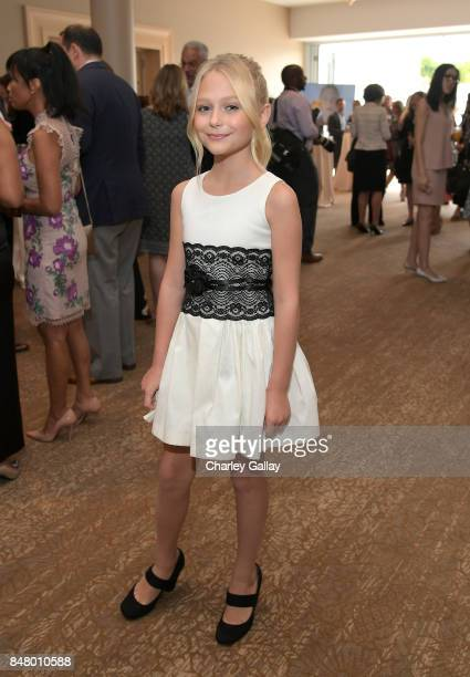 Alyvia Alyn Lind at the Women Making History Awards at The Beverly Hilton Hotel on September 16 2017 in Beverly Hills California