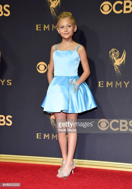Alyvia Alyn Lind attends the 69th Annual Primetime Emmy Awards at Microsoft Theater on September 17 2017 in Los Angeles California