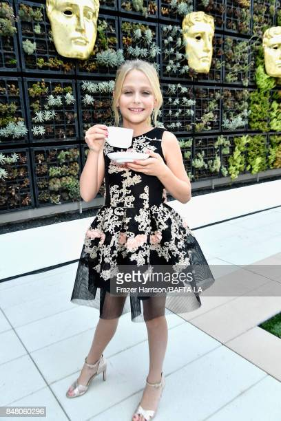 Alyvia Alyn Lind attends the BBC America BAFTA Los Angeles TV Tea Party 2017 at The Beverly Hilton Hotel on September 16 2017 in Beverly Hills...