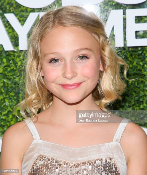 Alyvia Alyn Lind attends the CBS Daytime Emmy After Party on April 29 2018 in Pasadena California