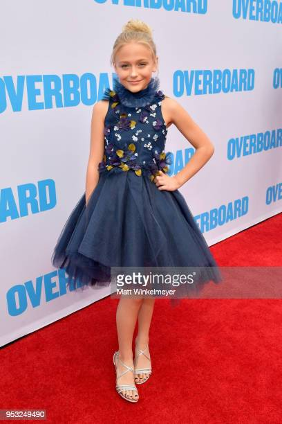 Alyvia Alyn Lind attends the premiere of Lionsgate and Pantelion Film's Overboard at Regency Village Theatre on April 30 2018 in Westwood California