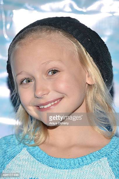 Alyvia Alyn Lind attends the Queen Mary's CHILL Freezes Over SoCal at The Queen Mary on November 20 2015 in Long Beach California