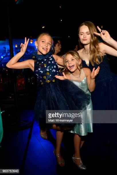Alyvia Alyn Lind Payton Lepinski and Hanna Nordberg attend the Premiere of Lionsgate and Pantelion Film's Overboard After Party at Regency Village...