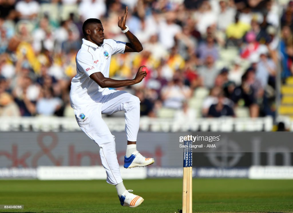 England v West Indies - 1st Investec Test: Day One : News Photo