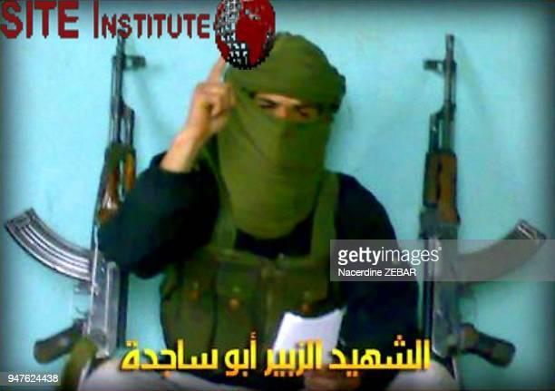 AlZubair Abu Sajeda l'un des auteurs presume des attentats d' Alger