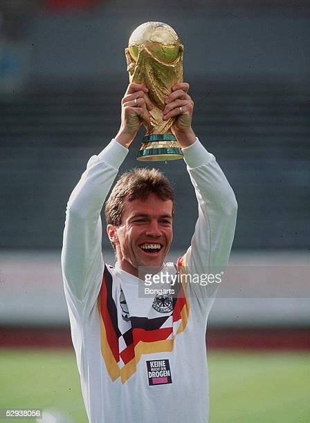 FUSSBALL WM 1990 am 080790 Lothar MATTHAEUS/GER