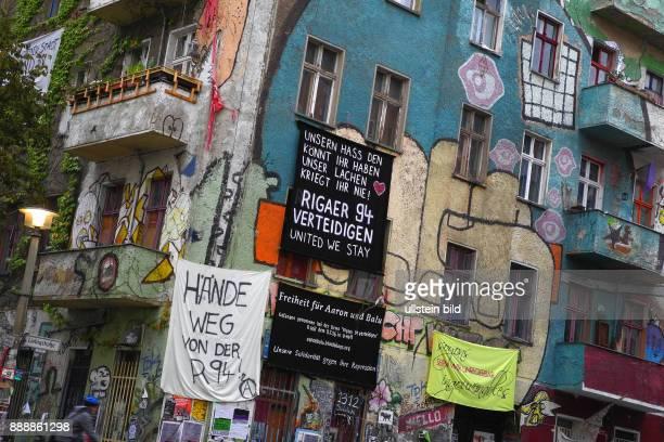 Am Teilerfolg fuer Bewohner der Rigaer Strasse 94 vor dem Landgericht Die Teilraeumung war illegal Jubel auf der Bewohnerseite Am wurde die Rigaer...