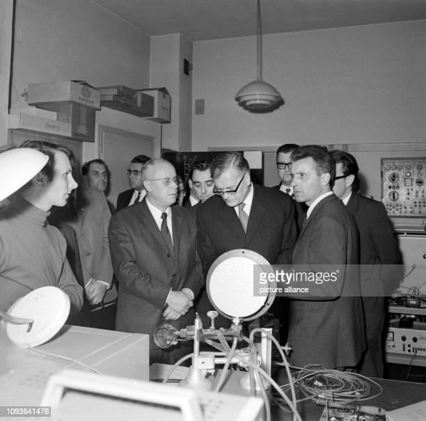 Am besucht Prof Dr Wladimir Kirillin Stellvertreter des Vorsitzenden des Ministerrates der UdSSR und Vorsitzender des Staatlichen Komitees für...