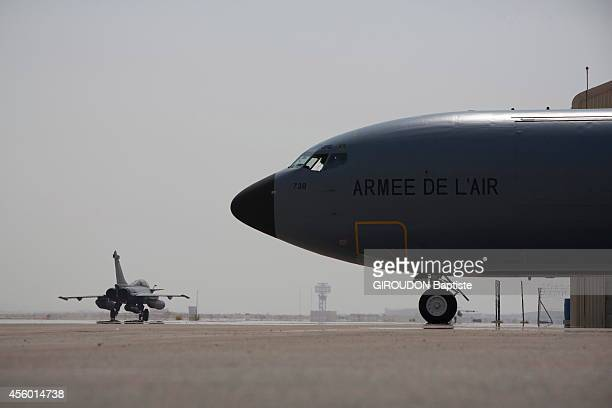 00 am a French Rafale aircraft leaves the airbase 104 AlDhafra in the United Arab Emirates for the first reconnaissance mission of the French...