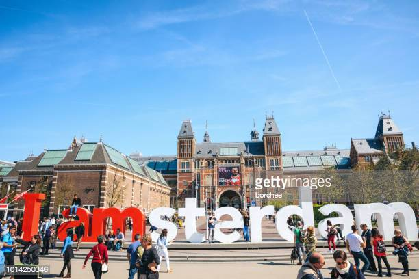 i am amsterdam - amsterdam stock pictures, royalty-free photos & images
